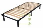 Каркас кровати Viva Steel Frame | Без ножек