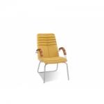Кресло руководителя - Galaxy wood CFA LB chrome
