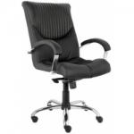 Кресло руководителя - Germes steel chrome LB