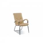 Кресло руководителя - Germes steel CFA LB chrome