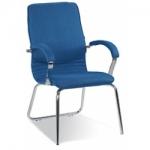 Кресло руководителя - Nova steel CFA LB chrome