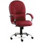 Кресло руководителя - Avrora steel chrome