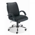 Кресло руководителя - Nadir steel LB chrome (comfort)