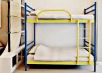Металлическая двухъярусная кровать FLY DUO Метакам