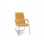 Кресло руководителя - Galaxy steel CFA LB chrome