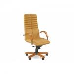 Кресло руководителя - Galaxy wood chrome