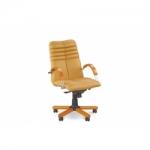 Кресло руководителя - Galaxy wood chrome LB