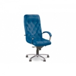 Кресло руководителя - Cuba steel chrome