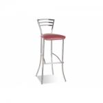 Барный стул Molino hoker chrome (Молино хокер)